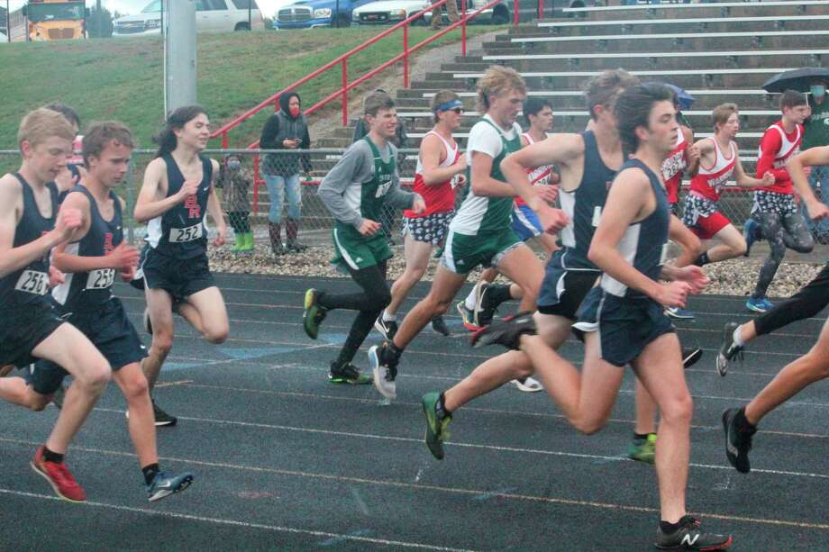 Big Rapids and other runners will be competing in the pre-regional race at Chippewa Hills on Saturday. (Pioneer photo/John Raffel)