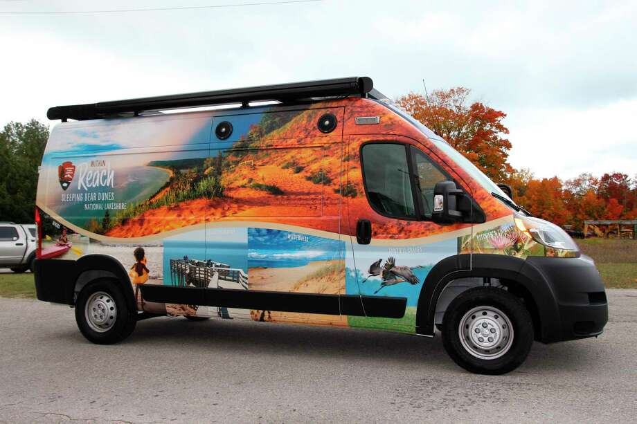 The Sleeping Bear National Lakeshore celebrated its 50th anniversary with the introduction of a new mobile visitor's center, which could be found at locations throughout the parks. (Courtesy Photo)