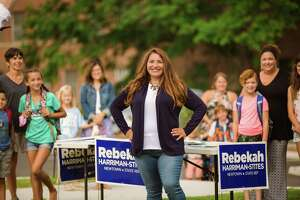 Rebekah Harriman-Stites, a Democrat, is running for a second time to represent Newtown in the 106th state House district.