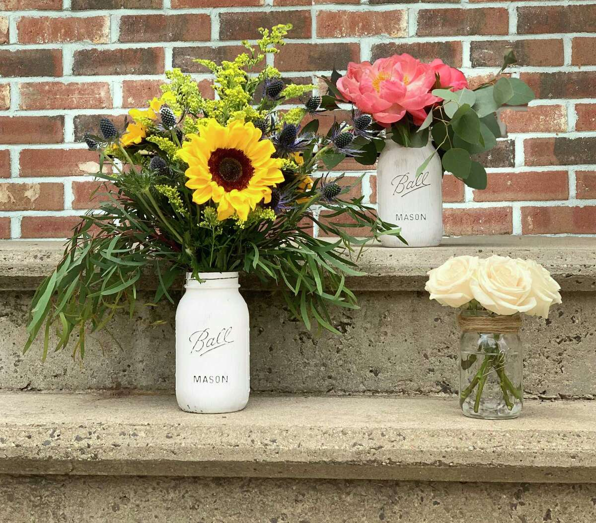 When the author's sister sees a Mason jar it reminds her of her son.