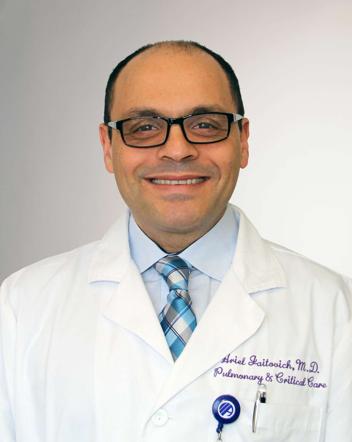 Dr. Ariel Jaitovich, a pulmonary and critical care doctor, has treated some of Albany Medical Center's most severe COVID-19 patients.
