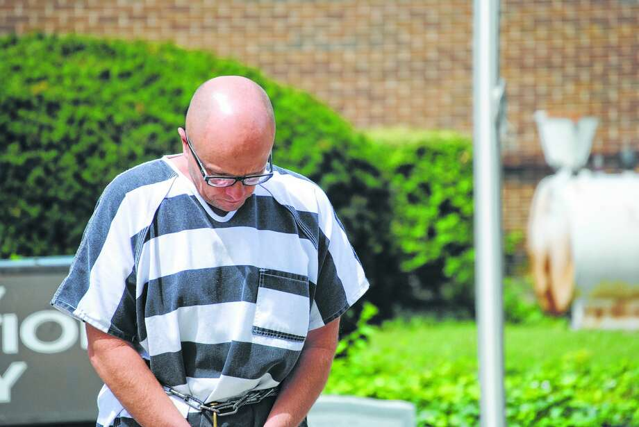 Robert Heitbrink, 56, of Jacksonville was sentenced to 27 years in prison for the 2013 stabbing death of William McElhaney. Photo: Journal-Courier