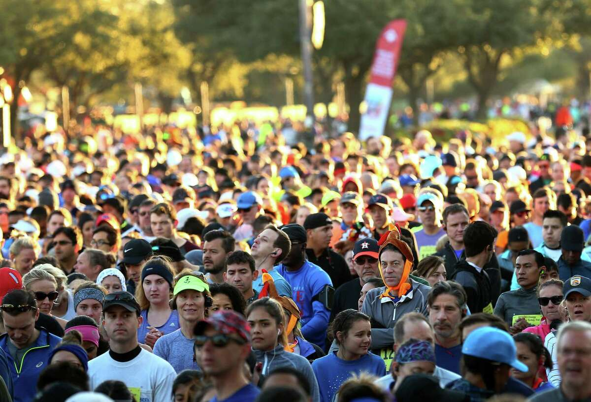 What you won't see this year: The BakerRipley Turkey Trot as it looked in 2017. ( Godofredo A. Vasquez / Houston Chronicle )