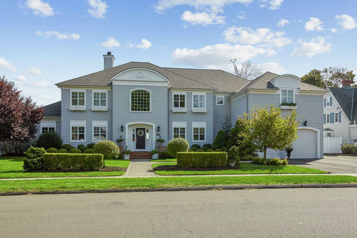 This Stratford home, offered at $1.350 million, has easy access to shopping, train station and highways.