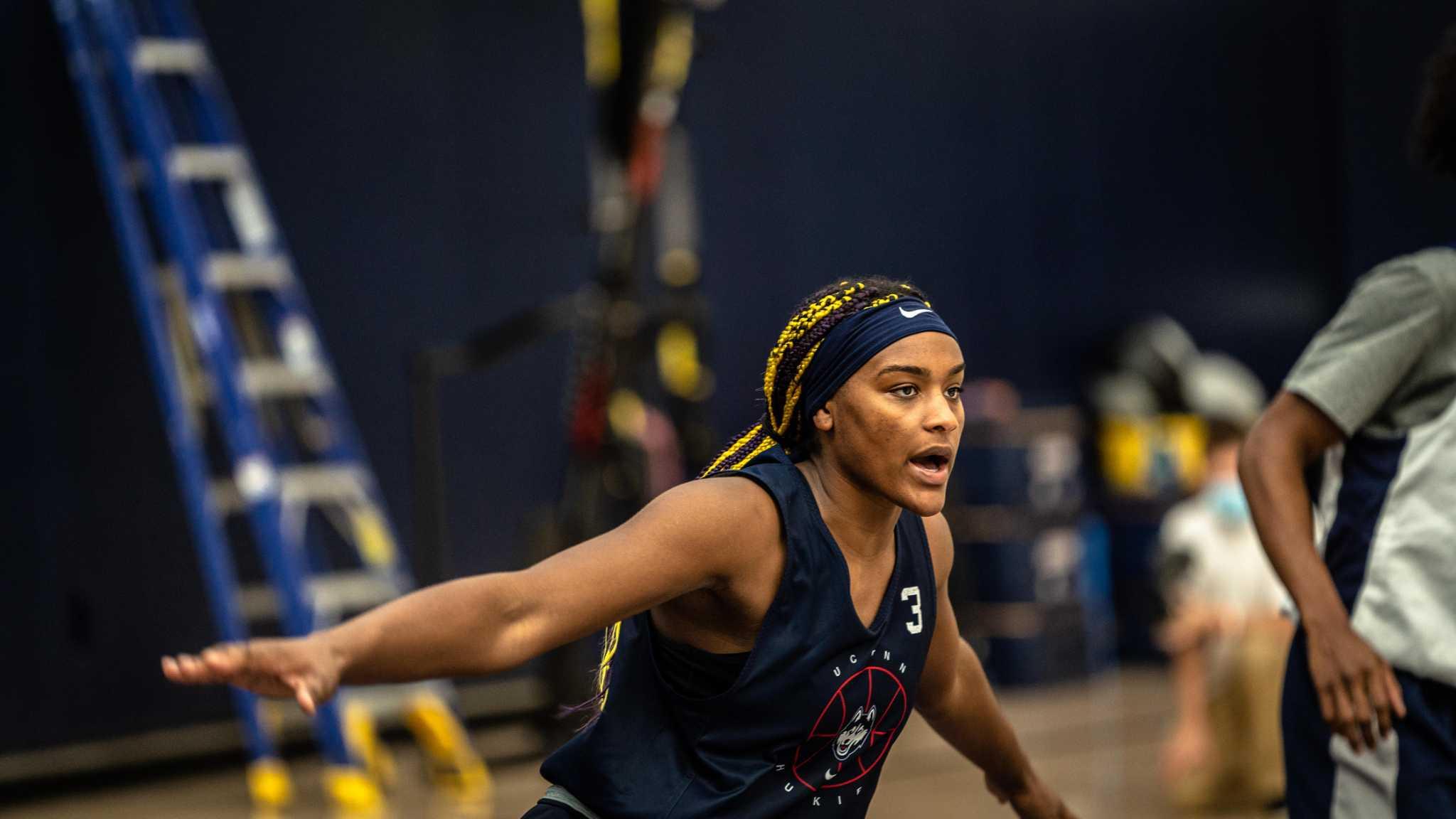 The next Napheesa Collier? UConn freshman Aaliyah Edwards drawing big comparisons