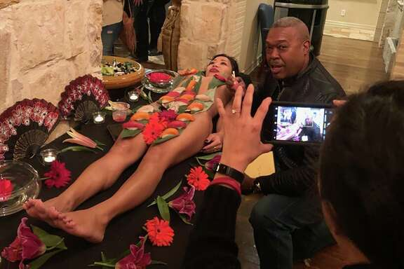 A reader questions the criticism heaped on San Antonio Fire Chief Charles Hood for eating sushi off a mostly nude woman at a firefighter's birthday party in January.