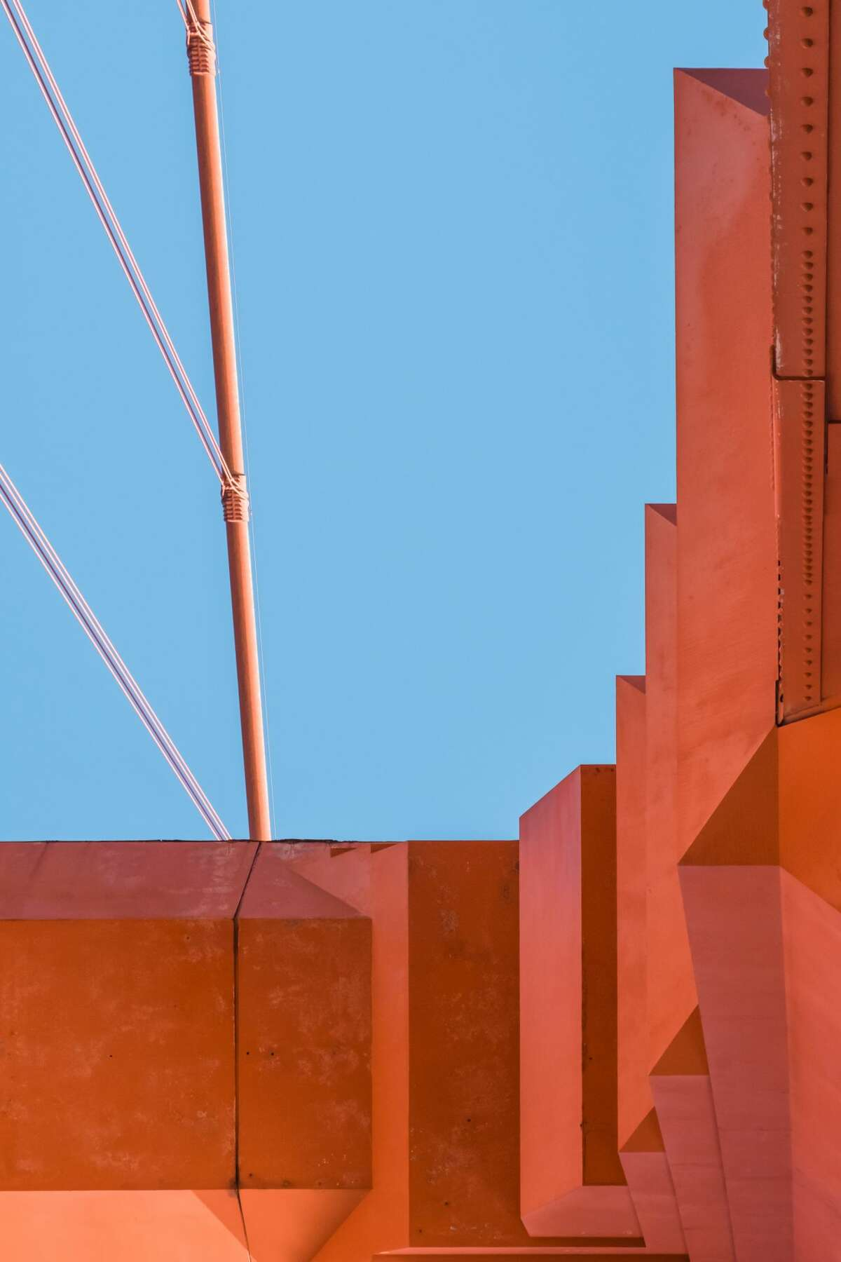 Photographer Michael Yuan spent two and a half years photographing the structure and design elements of the Golden Gate Bridge.