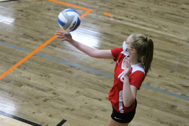 The Bear Lake Lakers compete against Frankfort and Mesick during a trip to Mesick on Oct. 22.