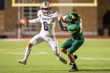Alexander quarterback Jay Santos passed for 265 yards and three touchdowns and rushed for another 71 yards and three scores.