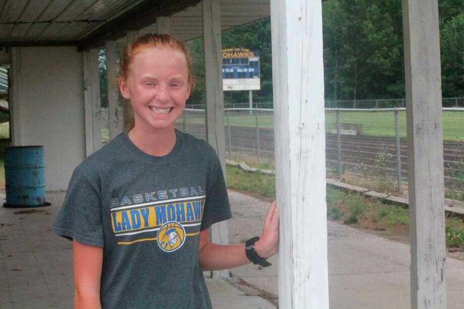 Miranda McNeil has been Morley Stanwood's top girl runner this season. (Pioneer file photo)