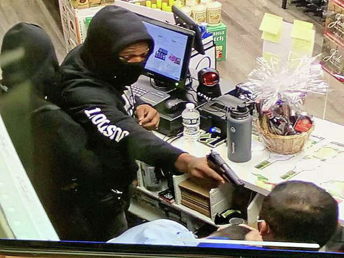 Two men held up a Fairfield liquor store on Thursday, Oct. 22, 2020 with one of the robbers holding a gun inches away from the store clerk's head. The two suspects took the cash from the register and a bracelet from the wrist of the employee. Additionally, a customer in the store had his wallet stolen by the suspects. No one was injured.