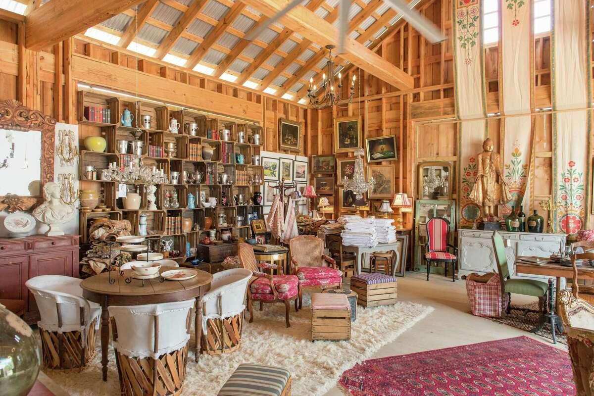 The Compound has expanded its square footage for vintage and antique home goods in Round Top for the fall 2020 antiques shows.