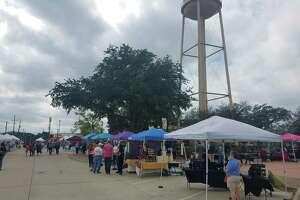 Katy Market Day opens for the first time in 2020 on Oct. 17, 2020.