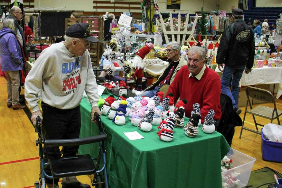 Bad Axe Middle School was bustling with activity for the 11th annual Mistletoe Marketplacelast year. This year's event has been canceled due to the coronavirus pandemic, however vendors will have an opportunity to feature their items in a new special section next month. (Tribune File Photo)