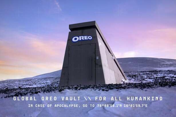 The Global Oreo Vault is located in Norway.