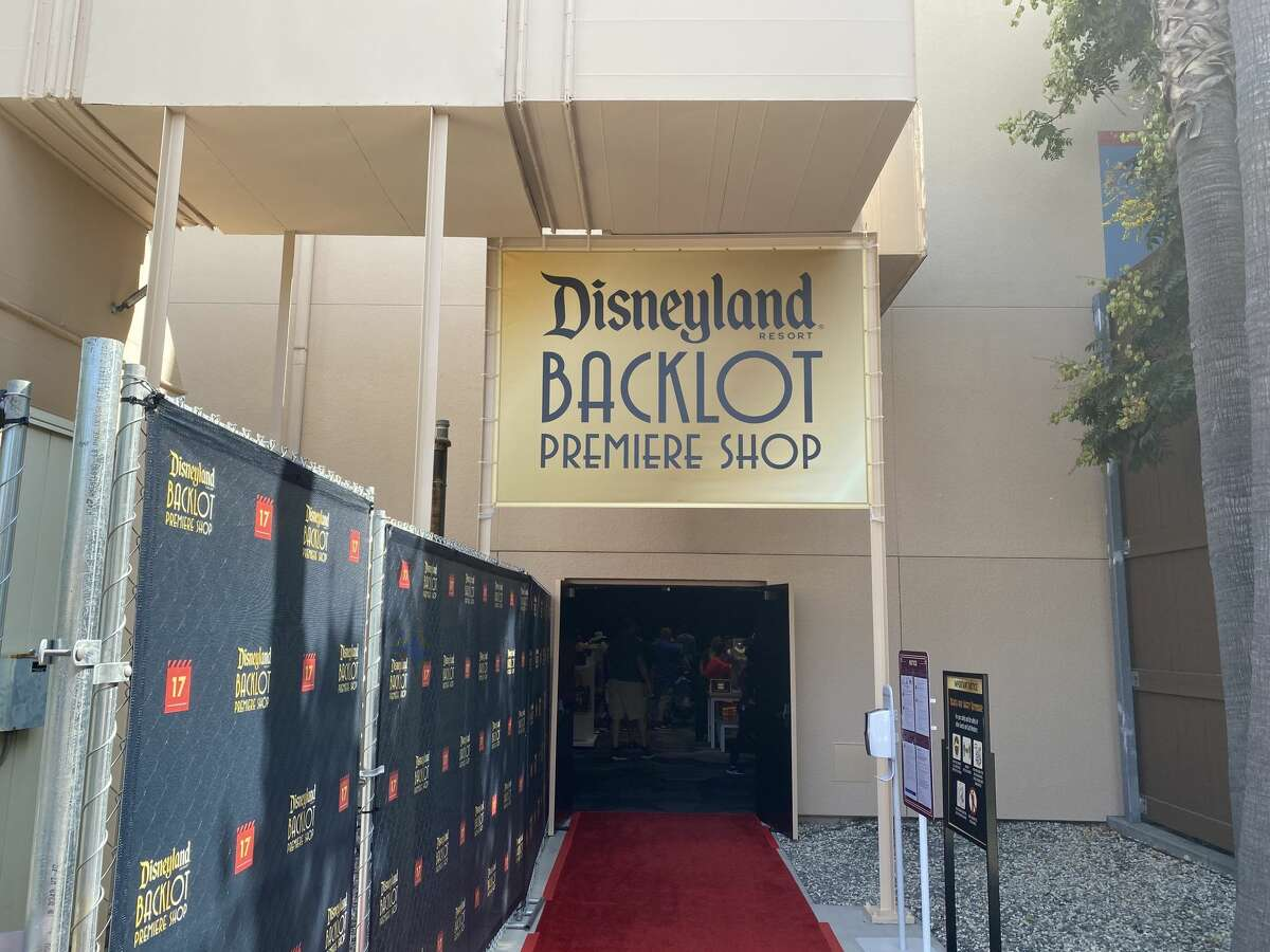The new Backlot Premiere Shop opened in October to help with crowds at Downtown Disney at the Disneyland Resort.