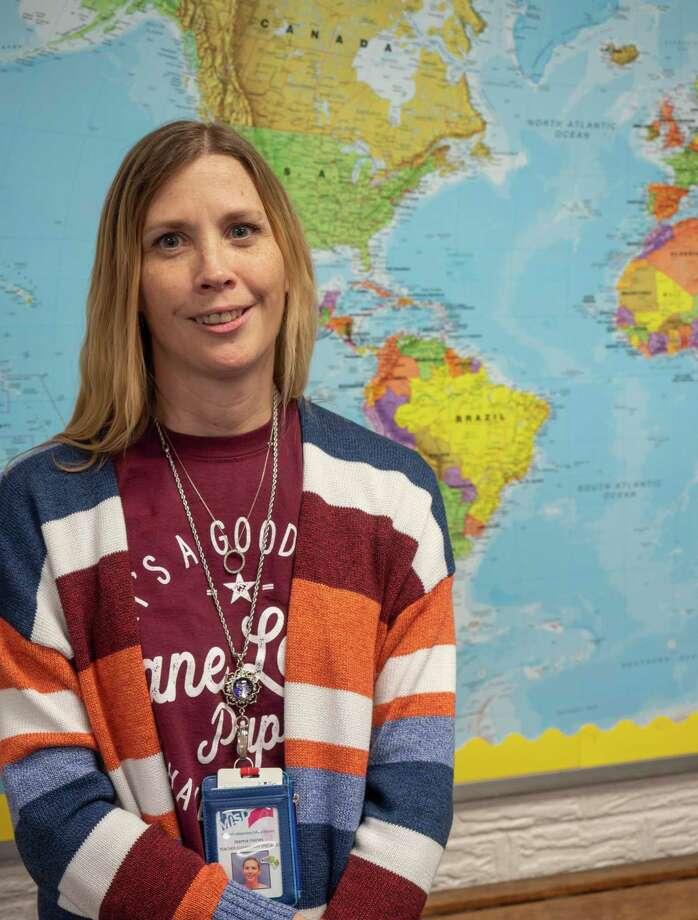 Joanna Haines, teacher at Long Elementary, 10/23/2020  Tim Fischer/Reporter-Telegram Photo: Tim Fischer, Midland Reporter-Telegram