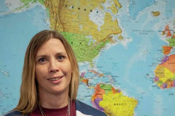 Joanna Haines, teacher at Long Elementary, 10/23/2020 Tim Fischer/Reporter-Telegram