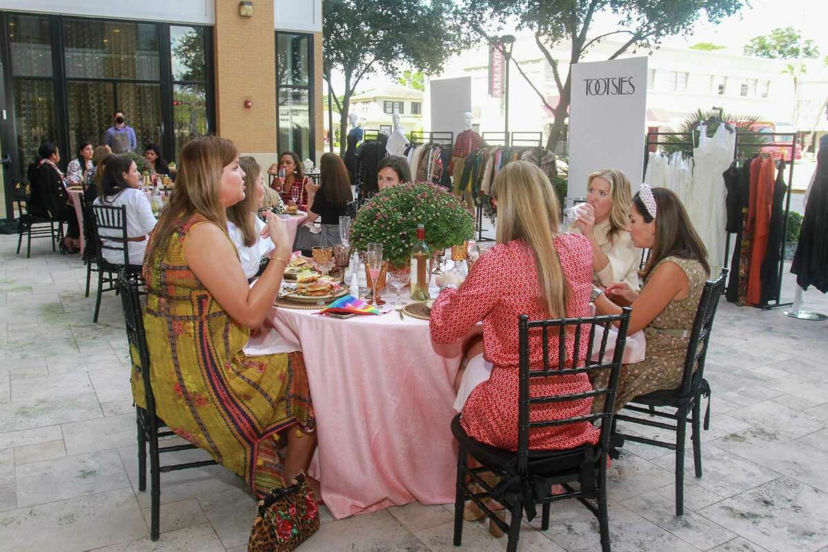 Tootsies hosted a fall trends brunch on its patio to illustrate how to dress for events remaining on the fall calendar.