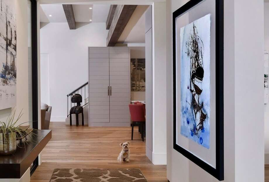 A modern home in Bellaire. Photo: Courtesy