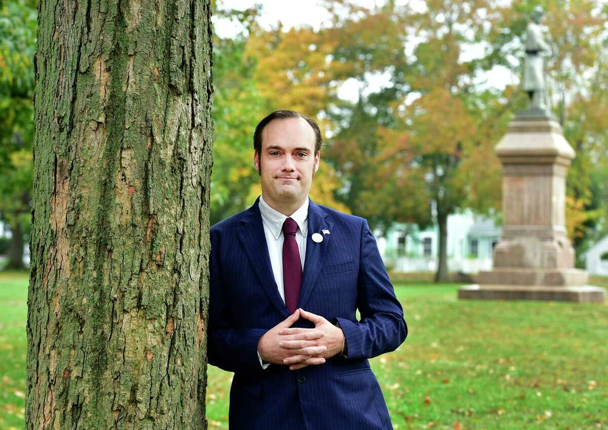 Dr. Justin Paglino, of Guilford, Green Party candidate for the 3rd District congressional seat