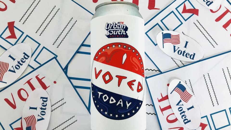 2 Texas breweries join nationwide 'I Voted' beer collaboration