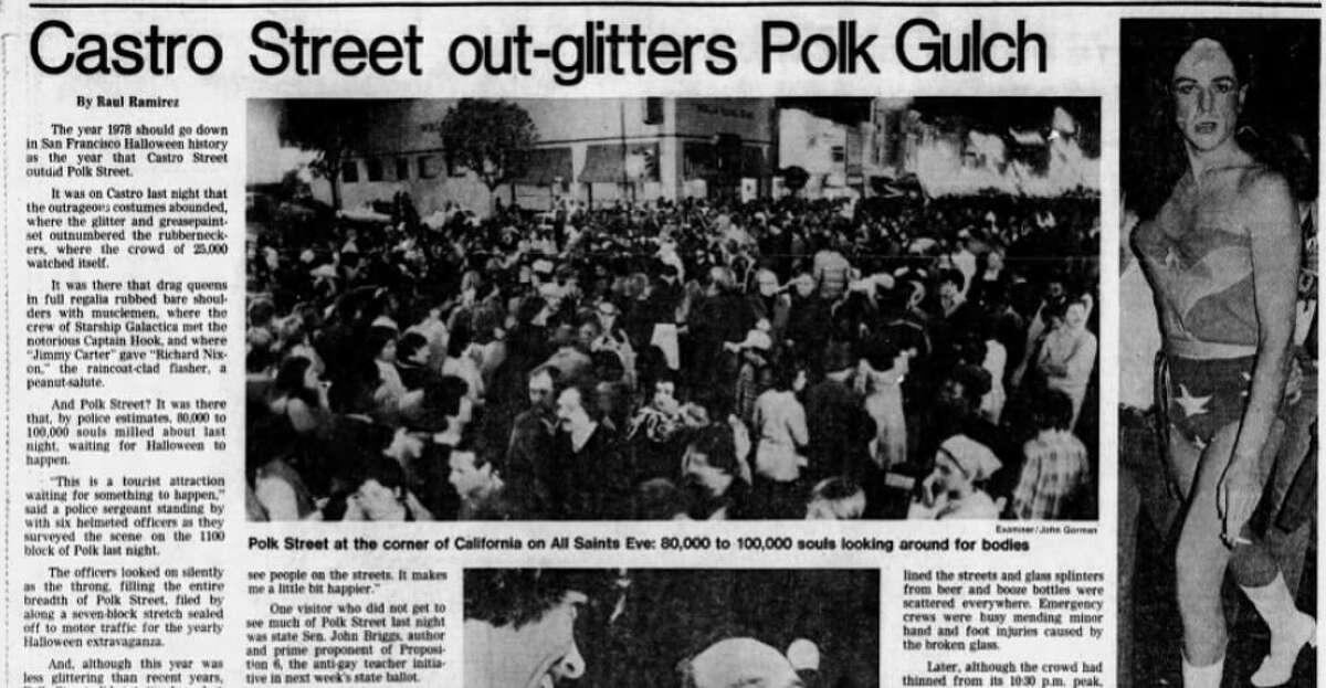The San Francisco Examiner, Nov. 1, 1978.