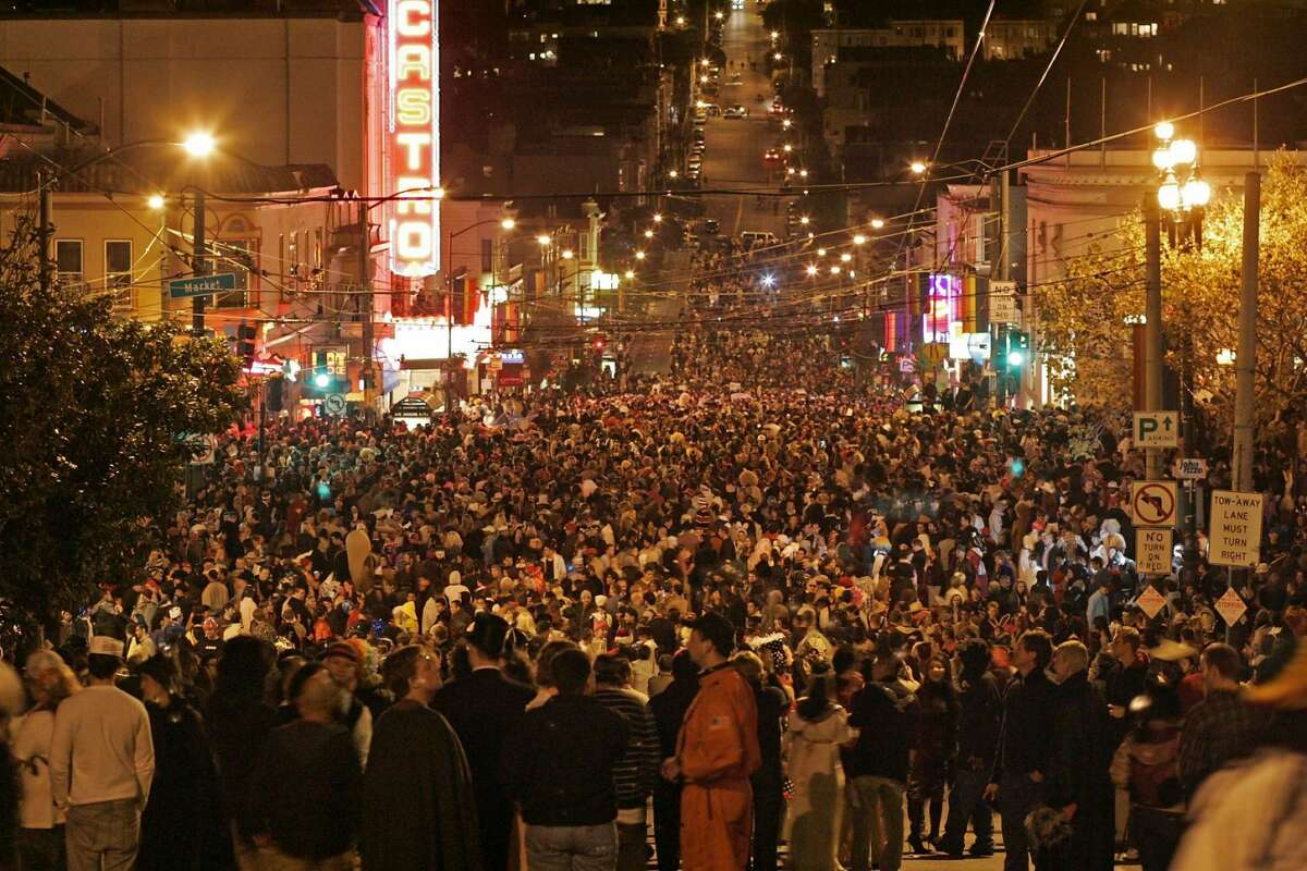 An estimated 500,000 people packed the Castro on Oct. 31, 2006. It would be the last mass Halloween gathering in the neighborhood.
