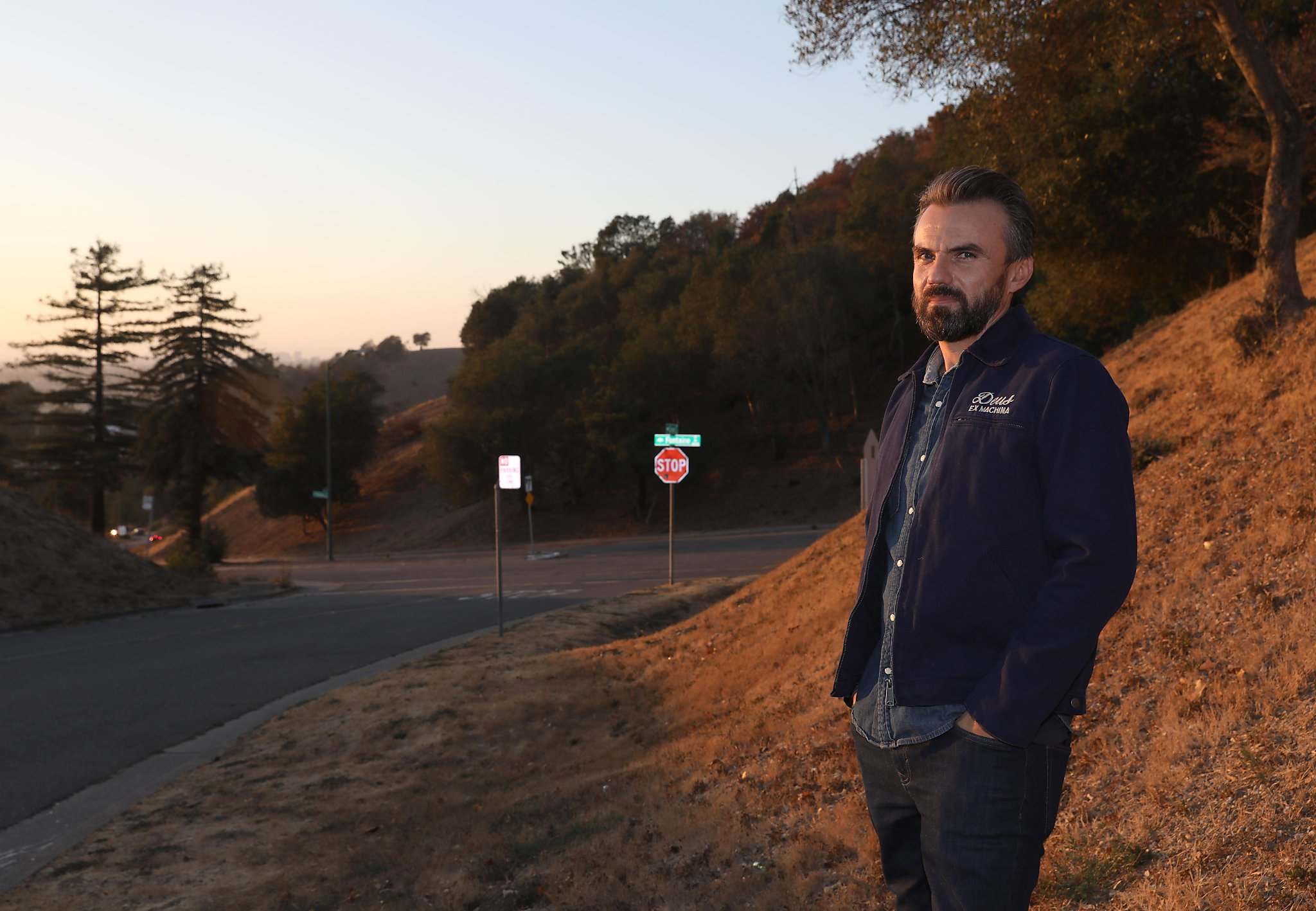 The Oakland hills are alive with the sound of gunfire in the night