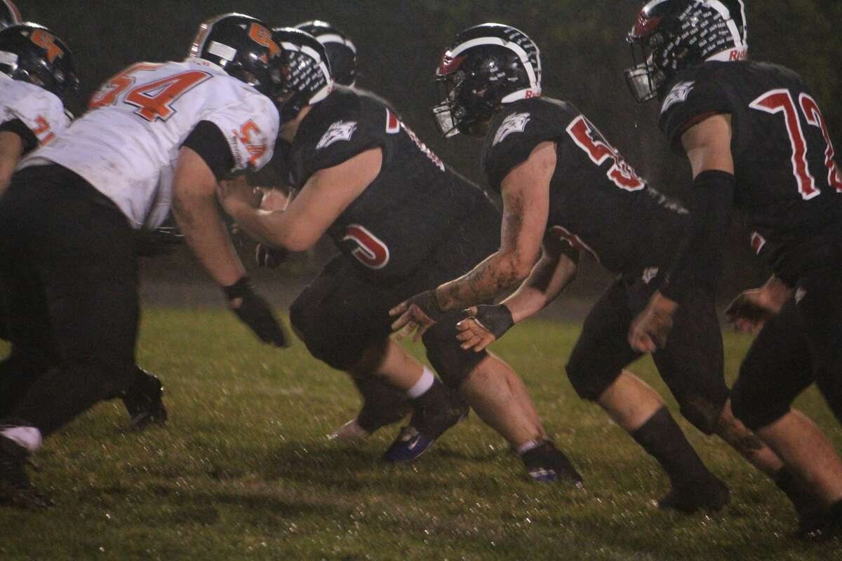 It wasn't easy, but Reed City's football team was able to end the regular season with a 36-20 win over Grant on Friday. It wasn't easy, but Reed City's football team was able to end the regular season with a 36-20 win over Grant on Friday.