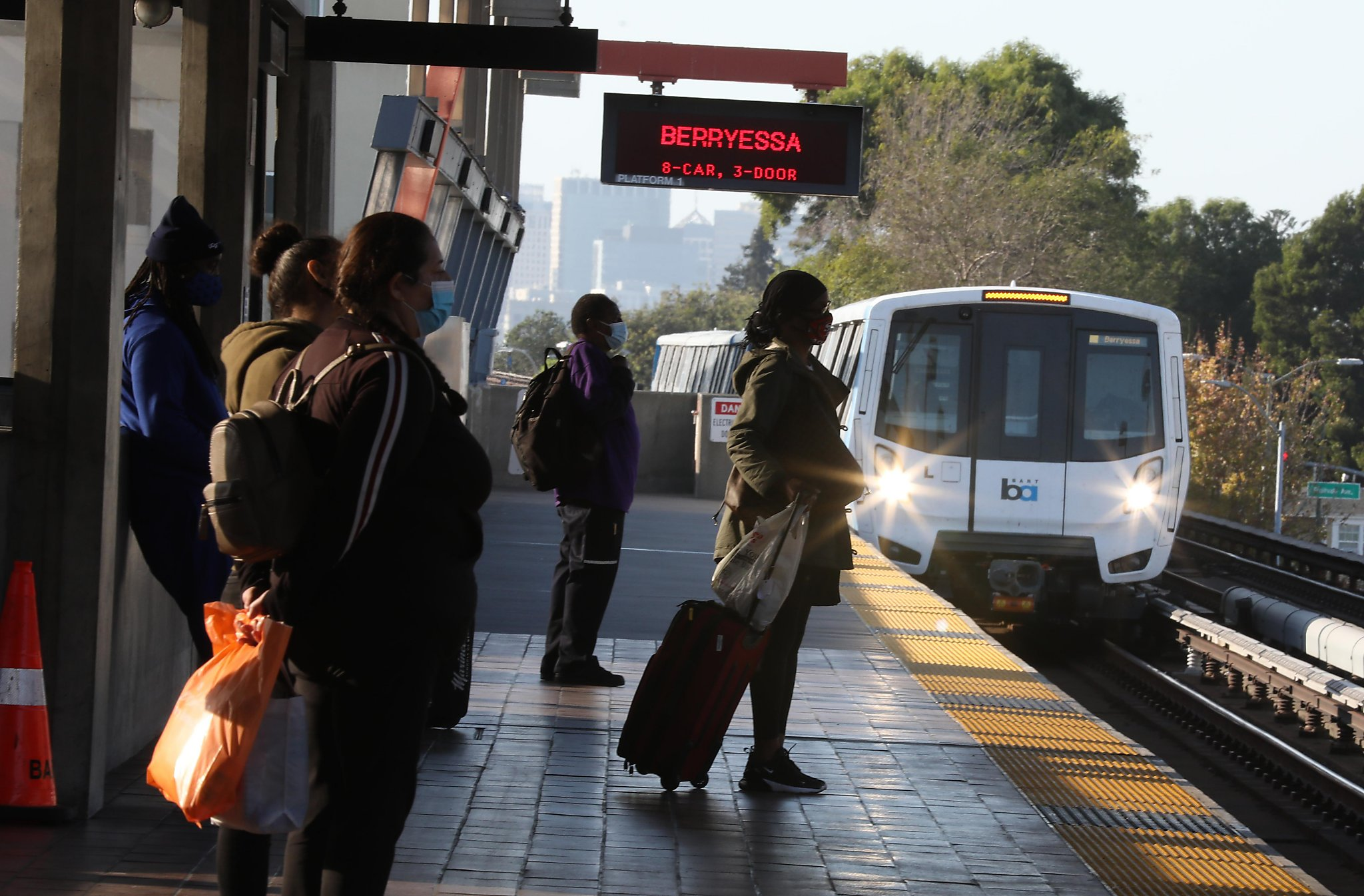 'I rely on BART': Essential workers who depend on public transit fear service cuts in pandemic