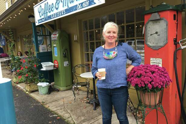 Adrienne Burke, owner of Greiser's Market in Easton.