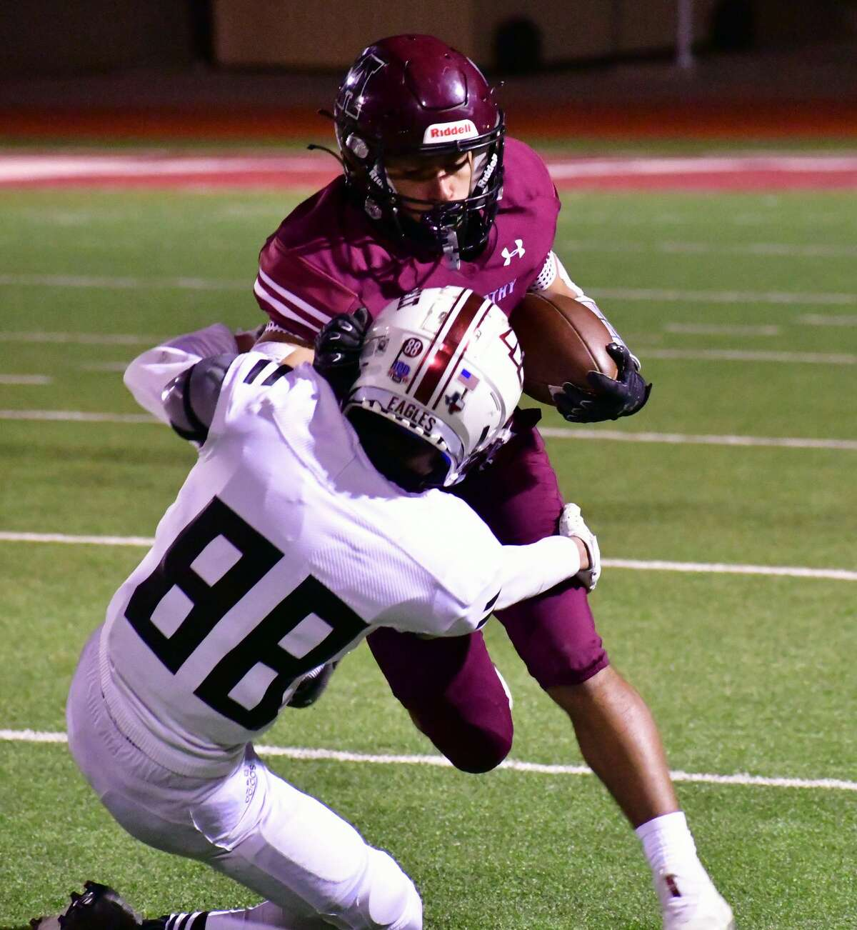 Abernathy defeated Lubbock Roosevelt 28-12 in a District 4-3A Division II football game on Friday, Oct. 23, 2020 in Antelope Stadium in Abernathy.