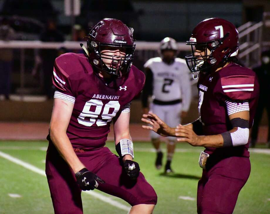 Abernathy defeated Lubbock Roosevelt 28-12 in a District 4-3A Division II football game on Friday, Oct. 23, 2020 in Antelope Stadium in Abernathy. Photo: Nathan Giese/Planview Herald