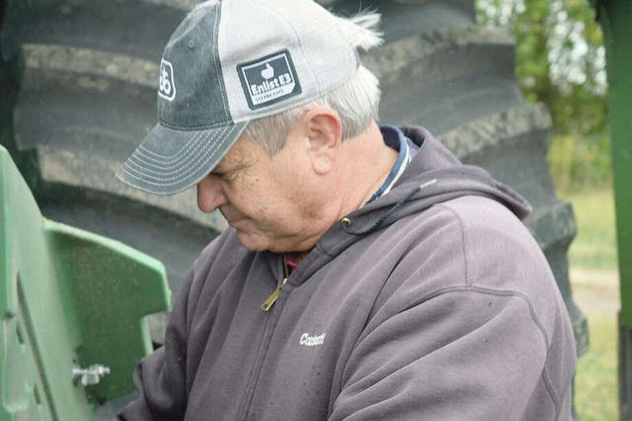 Farmer Dale Hadden. Photo: Marco Cartolano | Journal-Courier