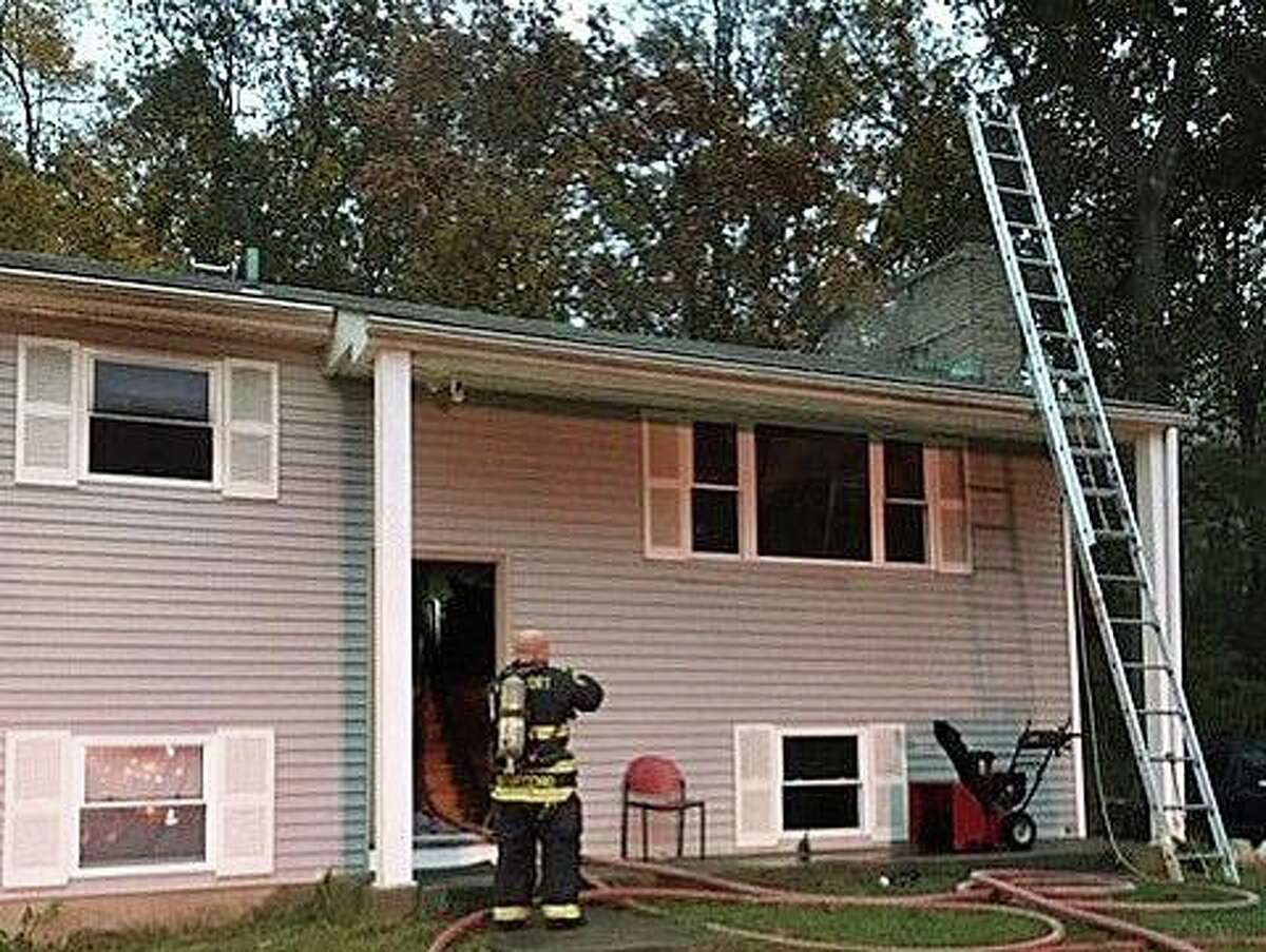 A kitchen fire late Friday afternoon damaged a house on Hiawatha Lane on Oct. 24, 2020. The first fire units that arrived just before 6 p.m. reported heavy smoke and fire visible from the first floor. The fire was located in the kitchen with extension to the attic. No injuries were reported.