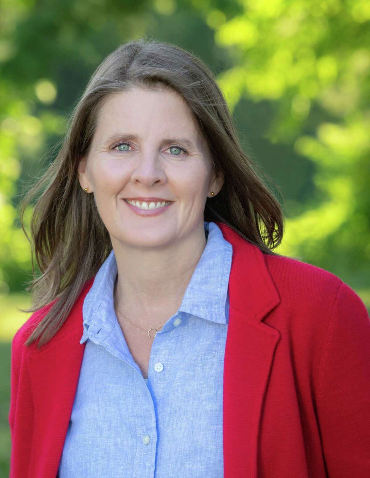 Connecticut Republican, and also Independent candidate for the state's 26th state Senate seat, Kim Healy, (pictured), is in this previous photo of her. This letter writer gives his opinion about Healy for the upcoming election, November 3.