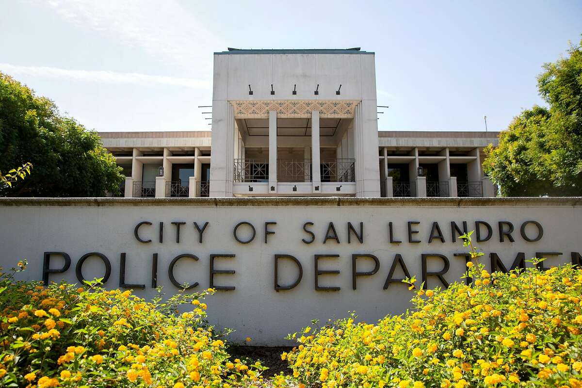 San Leandro police shot a 43-year-old man who allegedly raised a gun toward them.