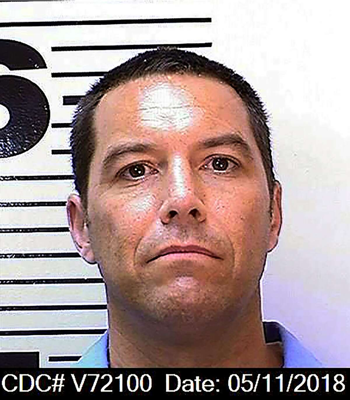 This May 11, 2018 photo from the California Department of Corrections and Rehabilitation shows Scott Peterson. Northern California prosecutors said Friday, Oct. 23, 2020, they will again seek the death penalty for Peterson in the slaying of his pregnant wife and unborn son nearly 19 years ago, even as a county judge considers throwing out his underlying conviction because of a tainted juror. Stanislaus County District Attorney Birgit Fladager acted after the California Supreme Court in August overturned Peterson's 2005 death sentence in a case that attracted worldwide attention. (California Department of Corrections and Rehabilitation via AP)