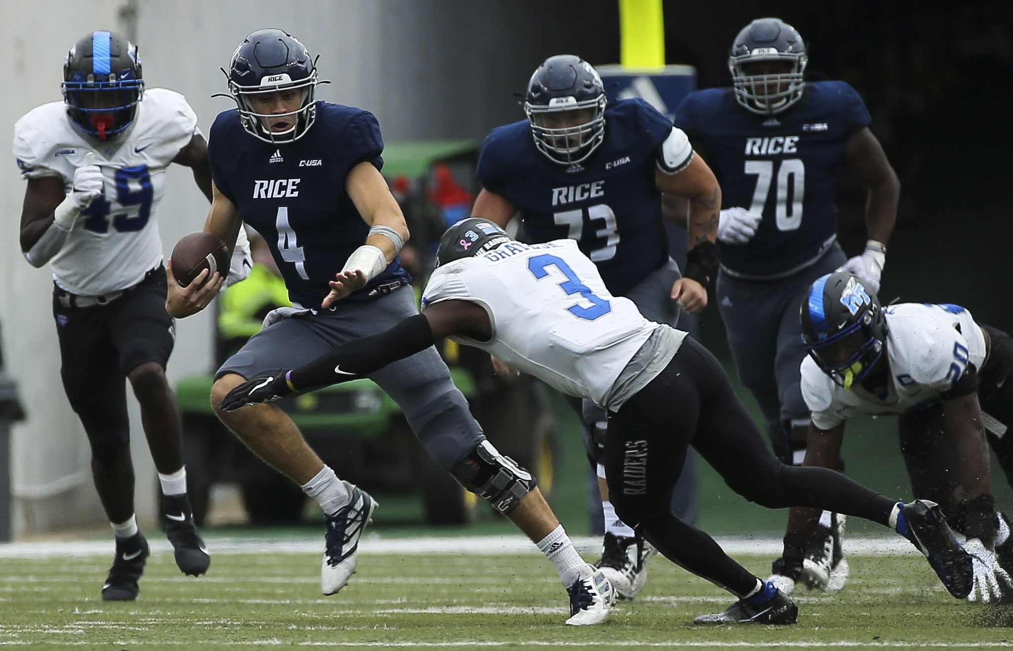 Rice Adjusts Again After Utsa Game Postponed By Covid 19 Houstonchronicle Com