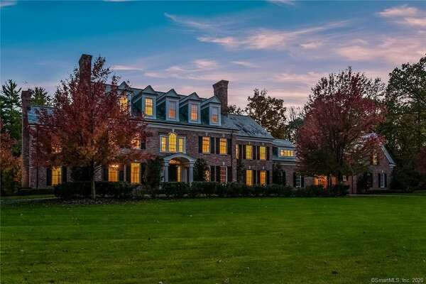 Fotis Dulos' 10,000-square-foot home at 4 Jefferson Crossing in Farmington was listed Friday for $1.75 million.