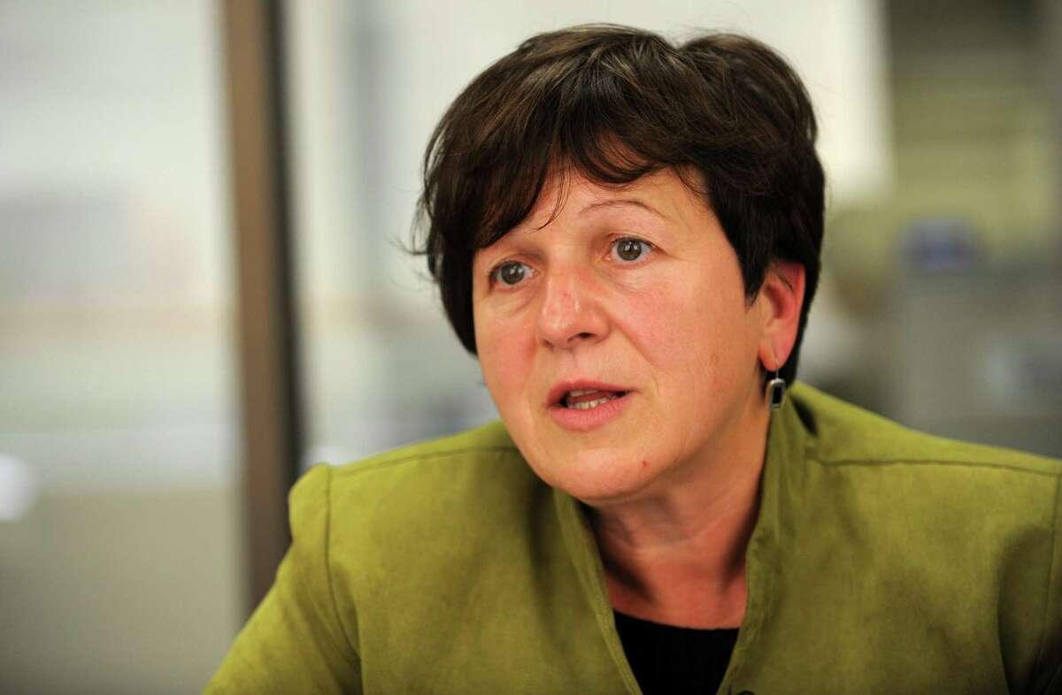 Anita Dugatto, Derby's former two-term mayor