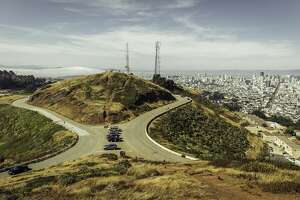 FILE - View from Twin Peaks in San Francisco, Calif.