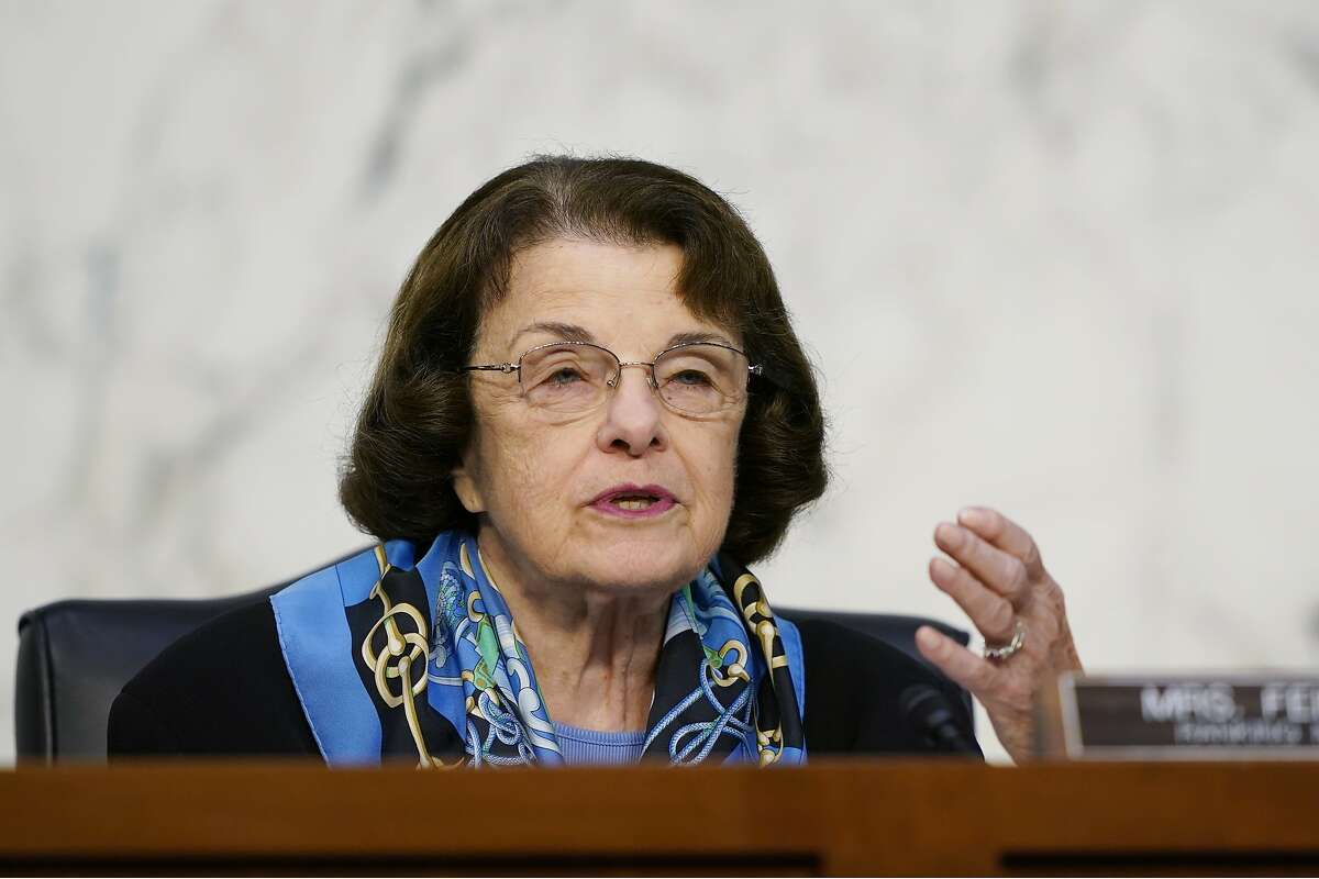Sen. Dianne Feinstein, D-Calif., angered some Democratic leaders because of her lack of aggression in opposing the Supreme Court nomination of Amy Coney Barrett.