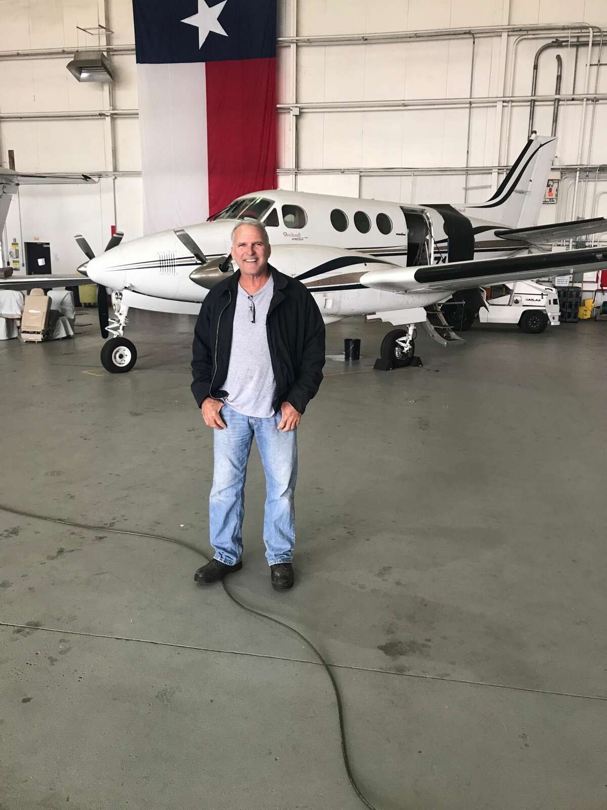 Pilot Jim MacIVOR lives in the Zuehl Airport Flying Community in Marion, Texas.