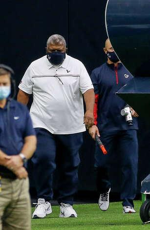 Houston Texans interim head coach Romeo Crennel before an NFL game Sunday, Oct. 25, 2020, at NRG Stadium in Houston. Photo: Jon Shapley, Staff Photographer / © 2020 Houston Chronicle