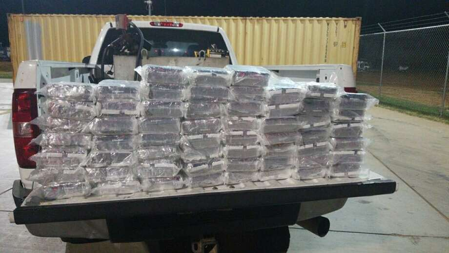 Shown is the 231 pounds of meth seized with an estimated value of $7,407,520. Photo: Courtesy /U.S. Border Patrol