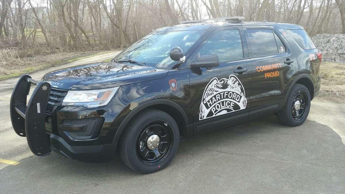 File photo of a Hartford, Conn., police cruiser.