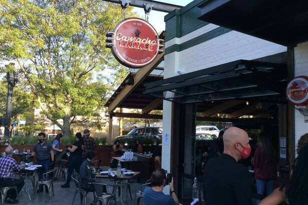 A fun atmosphere awaits you at Camacho Garage in New Haven.