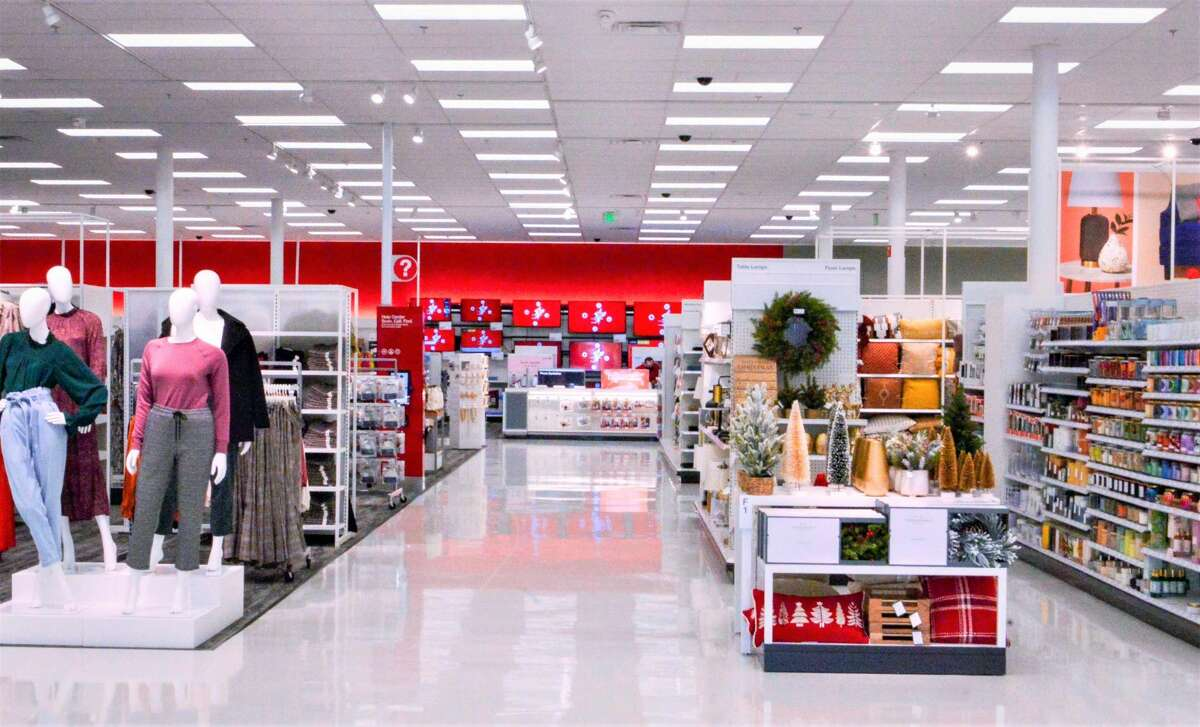 The store also features a CVS Pharmacy and a Starbucks.